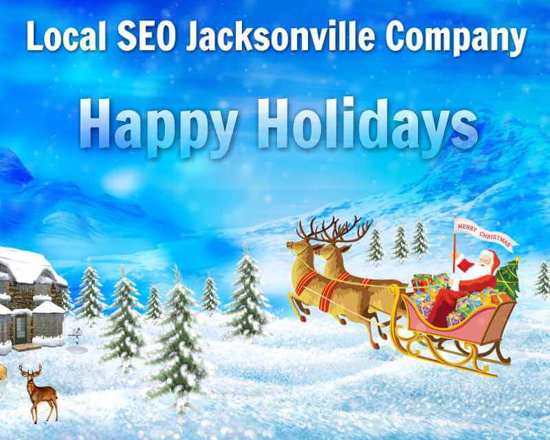 Wishing Happy Holidays from Local SEO Jacksonville