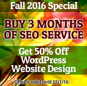 Local SEO Jacksonville FL Fall 2016 Special