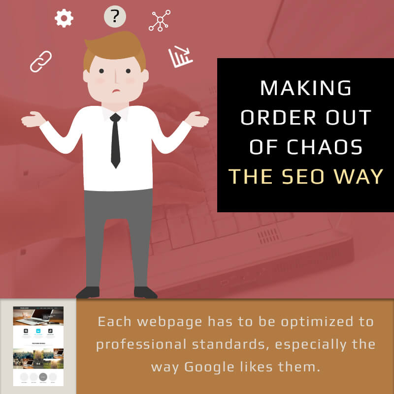 Making Order Out Of Chaos The SEO Way