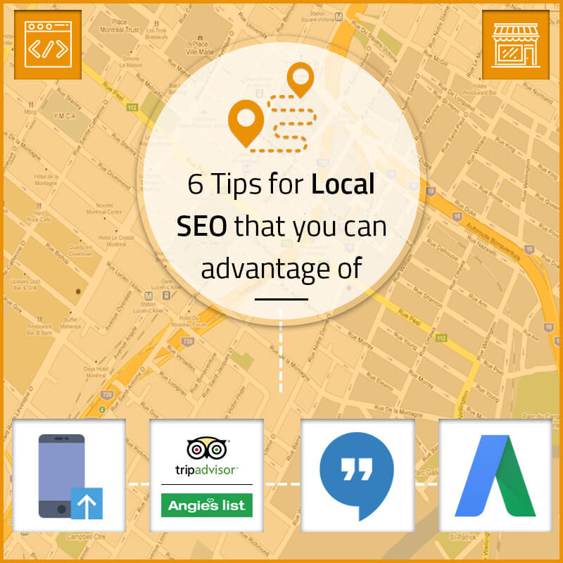 6 Tips for Local SEO That You Can Advantage of