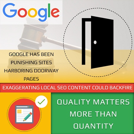 Exaggerating Local SEO Content Could Backfire