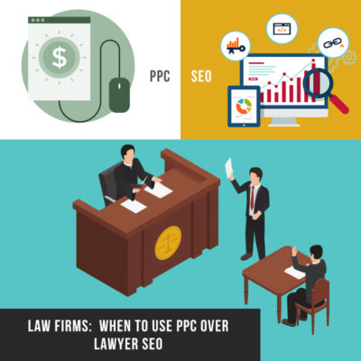 Law Firms: When To Use PPC Over Lawyer SEO