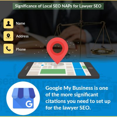 Significance Of Local SEO NAPs For Lawyer SEO